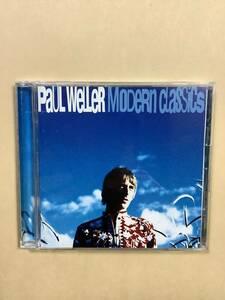 送料無料 ポール ウェラー「MODERN CLASSICS」グレイテスト ヒッツ 国内盤
