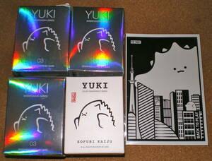 POP MART YUKI 4個セット+POSTカード ポップマート ユキ