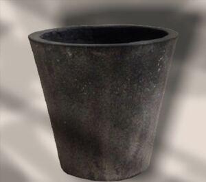 オシャレ☆ 植木鉢 プランター 【直径31cm】 ブラックウォッシュ 底穴あり 軽量コンクリート製 モダン ナチュラル感 送料無料 即決