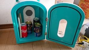 作動品 冷温庫 小型冷蔵庫 保温 保冷 ポータブル 家庭用ACコード 中古 ★☆