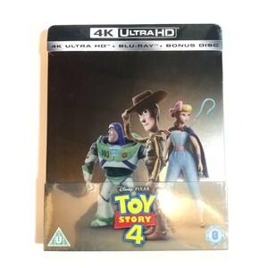 新品未開封 ディズニー ピクサー トイ・ストーリー4 スチールブック 4K Ultra HD+Blu-ray+ボーナスディスク