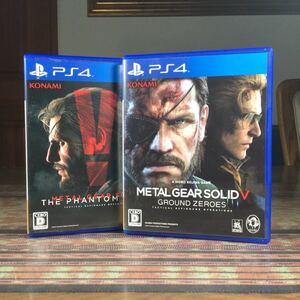 メタルギアソリッドV 『ファントムペイン』 『グラウンドゼロズ』 PS4