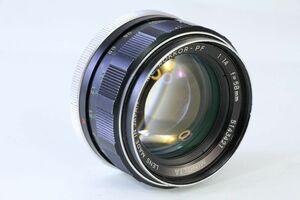 実用★ミノルタ MINOLTA MC ROKKOR-PF 58mm F1.4★スレキズ・光学綺麗★ZZZ 131