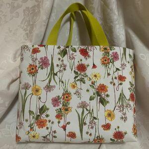 花柄トートバッグ ハンドメイド
