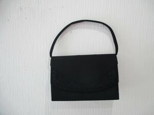 ハンドバッグ 中古 ブラック メーカー不明 ゆうパック60サイズ 1円スタート 同梱対応可能
