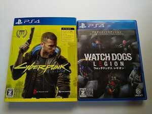 PS4 サイバーパンク ウォッチドッグス レギオン 2本セット アルティメット