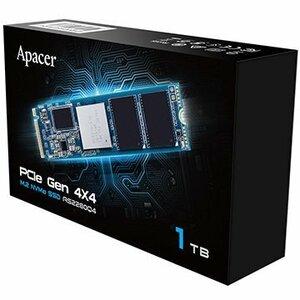超高速SSD 新品 内蔵型1 TB [Apacer AS2280Q4 1TB Gen4 x4 NVMe M.2 SSD Read 5000MB/s Write 4400MB/s 750k IOPs 1800TBW] 送料無料