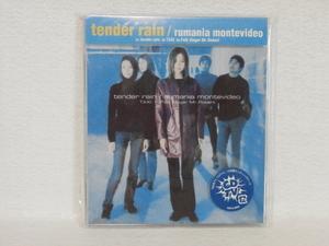 <新品同様> tender rain / rumania montevideo  帯付  国内正規セル版