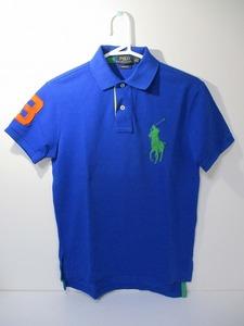 ポロラルフローレン ポロシャツ XS ブルー 新品未使用 ゴルフウェア ビッグポニー 国内正規品