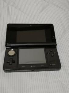3DS 本体 コスモブラック