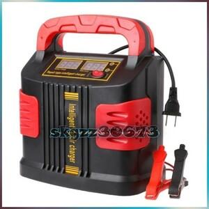 bx●350 ワット 14A 自動プラス調整液晶バッテリー充電器 12 V-24 V 車ジャンプスターターポータブル AT5513