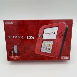 ★新品・未使用★ 即納 任天堂 Nintendo 2DS 本体 レッド ニンテンドー