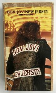 BON JOVI  ボンジョヴィ / NEW JERSEY THE VIDEO  ニュージャージー  VHS ビデオテープ