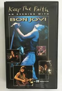 ボン・ジョヴィ  Keep The Faith   BON・JOVI  VHS ビデオテープ