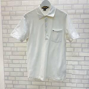 RUGBY Ralph Lauren 半袖シャツ ポロシャツ 綿100% コットン 白 メンズ S 2004 ラグビー ラルフローレン