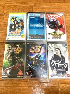 PSPソフト まとめ売り 7本