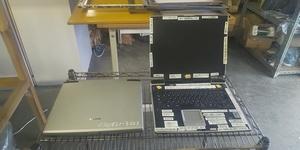 A【石030821-3(2)再】東芝ノートバソコンdynabook-AIO ジャンク品本体のみ PAS10N-0W01K OSWindowsXP 空冷フャンの他故障