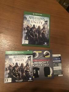 送料無料 Xbox One★アサシンクリード ユニティ★used☆Assassin's Creed Unity☆Import Japan