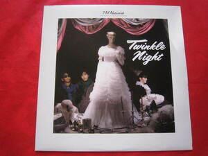 ■TM Network(TMネットワーク) / TWINKLE NIGHT / 国内盤4曲入りミニアルバム