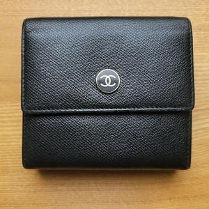 シャネル 二つ折り財布 ココマーク