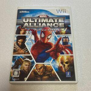 Wii Wiiソフト MARVEL ULTIMATEALLIANCE マーベル アルティメットアライアンス
