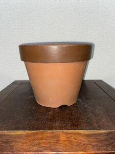 植木鉢 素焼き 6号 多肉植物 山野草 観葉植物 草花 深鉢 鉢 盆栽鉢