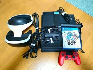 PS4 PRO CUH-7200B 1TB PS VR CUH-ZVR1 ASTRO BOT のVRすぐできるセット SONY