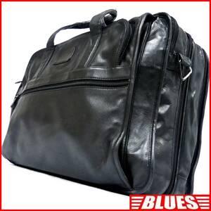 即決★TUMI★オールレザービジネスバッグ トゥミ メンズ 黒 本革 かばん 本皮 通勤 ブリーフケース 出張カバン 鞄 書類カバン