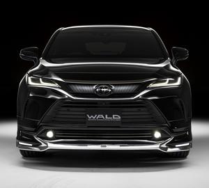 【WALD EXECUTIVE LINE】 トヨタ 80 85 ハリアー R2.6~ フロントスポイラー MXUA80 MXUA85 ヴァルド バルド スポイラー ハリヤー