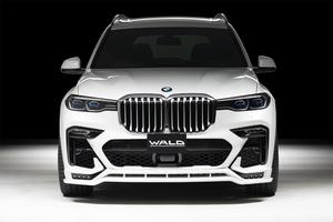 【WALD Sports-Line】 BMW G07 X7 Mスポーツ 35d M50i 前期 19.06- エアロキット 4点 ヴァルド エアロ バルド フロント サイド リア 4P