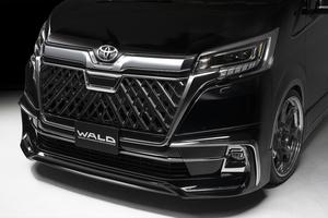 【WALD EXECUTIVE LINE】 トヨタ グランエース GRANACE R1.12- フロントスポイラー ヴァルド バルド エアロパーツ スポイラー ABS