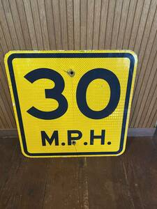 ★本物★アメリカ 道路標識★HC-B5★ロードサイン ガレージ 店舗 ショップ 世田谷ベース アメリカン 看板 ビンテージ USA