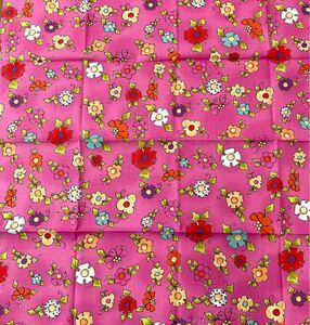 ロラライハリス 花柄 ピンク