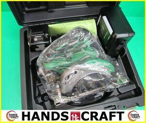 HIKOKI ハイコーキ 165mm コードレスマルノコ 黒鯱 C3606DA(2XP)(K) 36V バッテリー2個 充電器付  ⑴