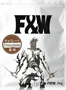 3kg F&W(エフアンドダブリュー) ホエイプロテイン 3kg たんぱく質含有量74% 国産 100食分 WPC 軽量