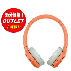 【在庫処分・新品未使用】SONY ワイヤレスステレオヘッドセット h.ear on 3 Mini Wireless WH-H810-DM オレンジ【海外仕様】