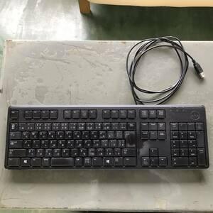 デル DELL キーボード USBキーボード 中古品
