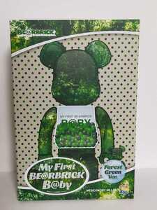 即決!送料無料!MY FIRST BE@RBRICK B@BY FOREST GREEN Ver. 100% & 400% medicom toy plus bearbrick ベアブリック chiaki 千秋