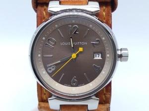 LOUIS VUITTON/Q1212 タンブール/クォーツ 腕時計