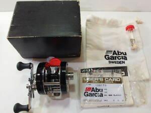 アブ ABU アンバサダー 4600C 赤ベロ 右巻き ベイトリール オリムピック期 ちょい古アブ (65-265