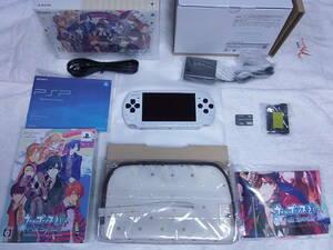 新品同様 PSP-3000 ホワイト うたの☆プリンスさまっ♪All Star Prelude Symphony Pack ほとんど未使用に近い 付属品も綺麗な美品