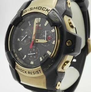 CASIO カシオ G‐SHOCK ジーショック GS-1000BJ アナログ デイト スモセコ クォーツ メンズ 腕時計 ゴールド ブラック ラバーベルト