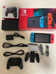 ニンテンドースイッチ本体  Nintendo Switch Switch本体 コントローラー付き 2/6購入