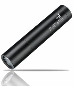 LED懐中電灯 【超長点灯時間/2600mAh充電池 18650】USB 充電式