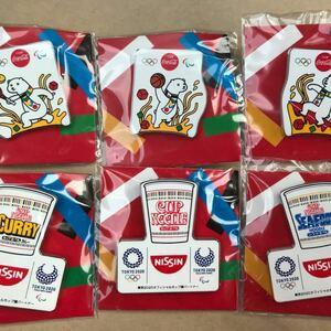 オリンピック 東京五輪 TOKYO2020 TOKYO 東京 カップヌードル ピンバッジ トートバッグ バッグ ファイル 巾着袋