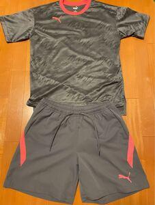 プーマ メンズ トレーニングウェア 半袖Sサイズ ハーフパンツMサイズ