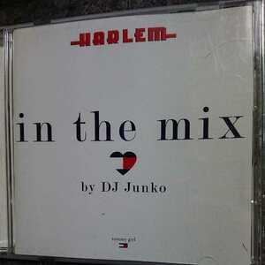 Harlem in the mix/DJ Junko 国内盤 CD disc良好品 帯付き