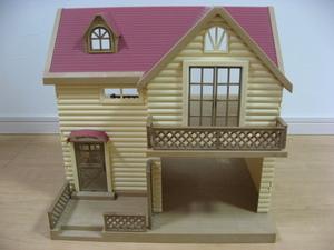 ♪ シルバニアファミリー お家と人形と家具小物一式 ♪