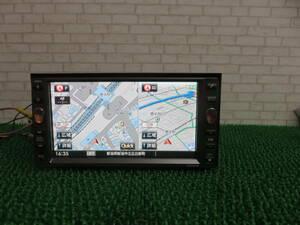 Q574動作品保障付/TVフルセグ地デジ/Bluetooth内蔵/日産HDDナビ HS310D-W/NVA-HD7310FW /SD USB ipod CD DVDOK SANYO ワイド200mm テレビOK