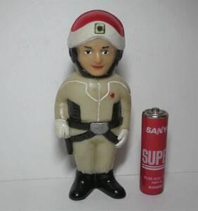 タカトク ダン隊員 ミニ ソフビ 人形 ウルトラ警備隊 ウルトラセブン リペイント,直し 難あり